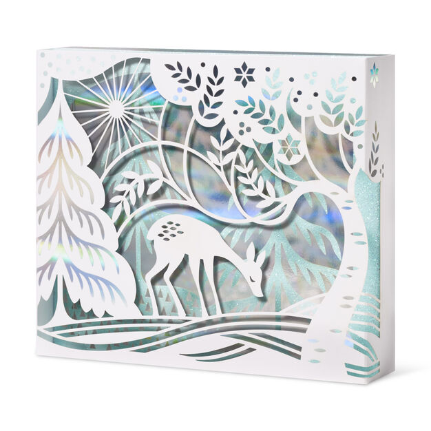 Fawn in the Frost Holiday Cards - Set of 8 in color