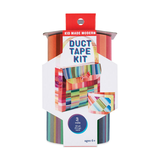 Kid Made Modern Duct Tape Kit: Stripes in color