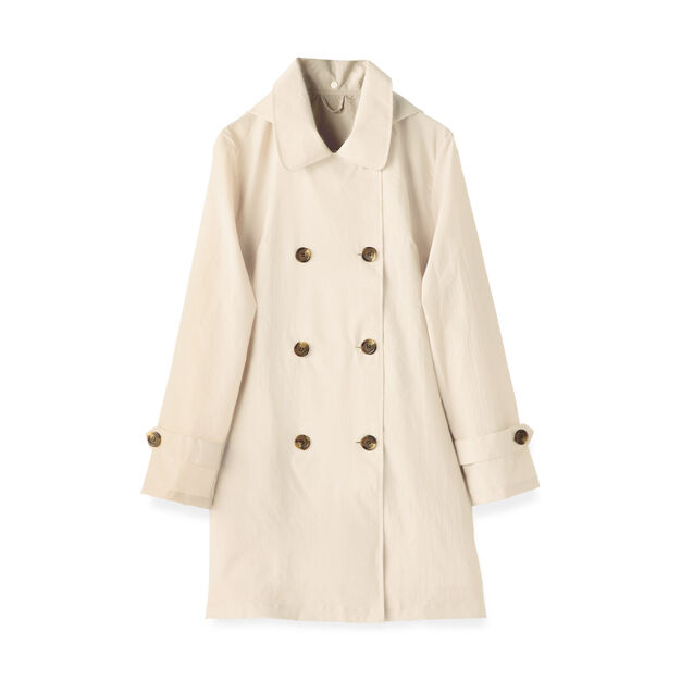 Convertible Rain Trench Coat in color