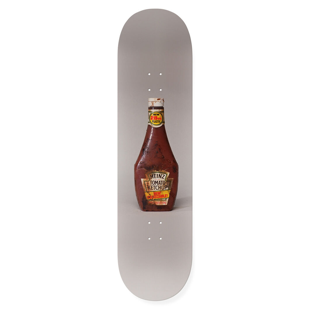 McCarthy PROPO Skateboard Ketchup in color