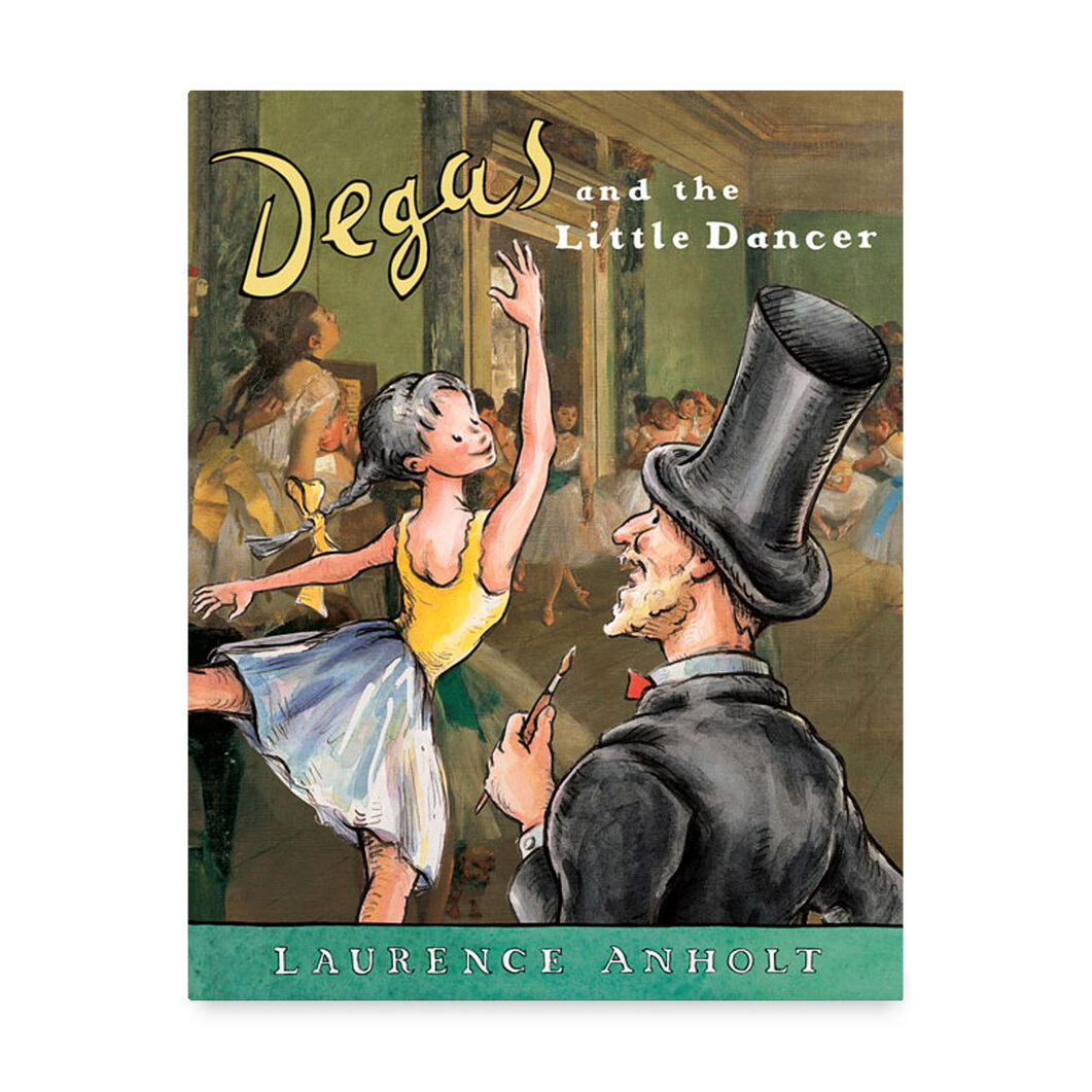 Degas and the Little Dancer in color