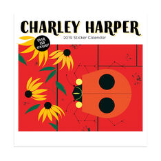 2019 Charley Harper Sticker Wall Calendar in color