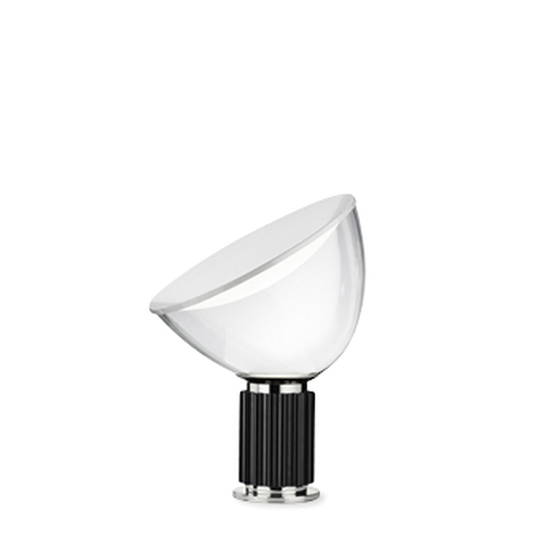 Taccia LED Table Lamp in color Black