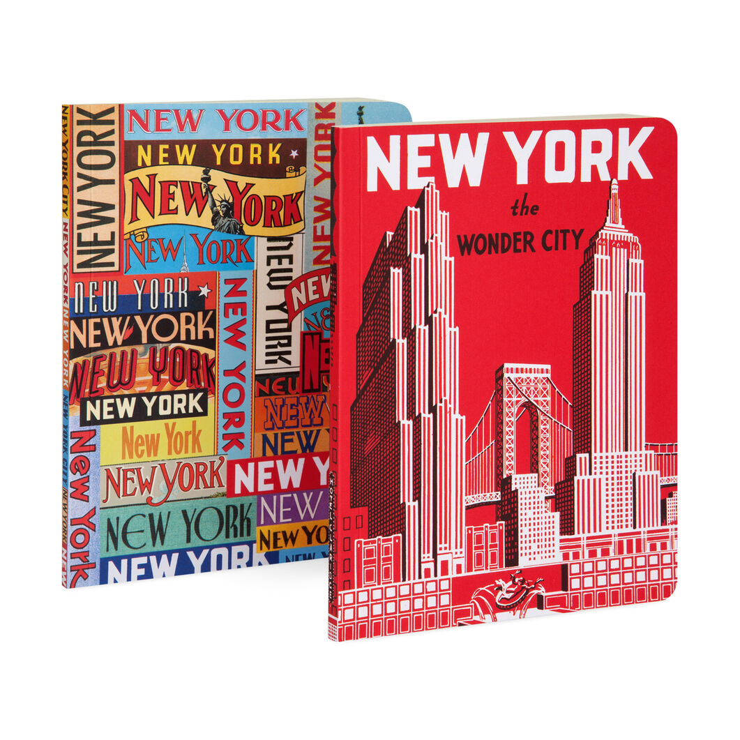 New York Wonder City Notebook Set of Two in color