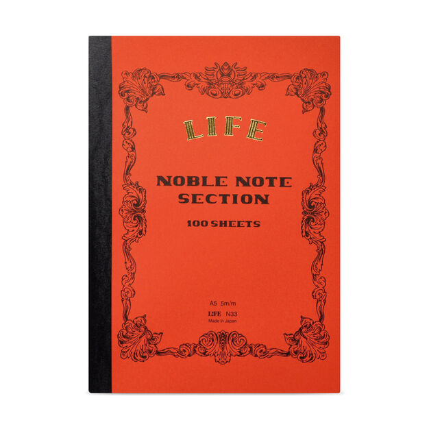 Life Large Noble Notebook in color