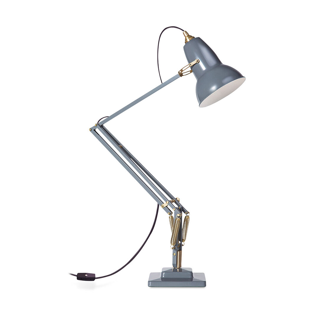 Original 1227 Gray Anglepoise Lamp in color