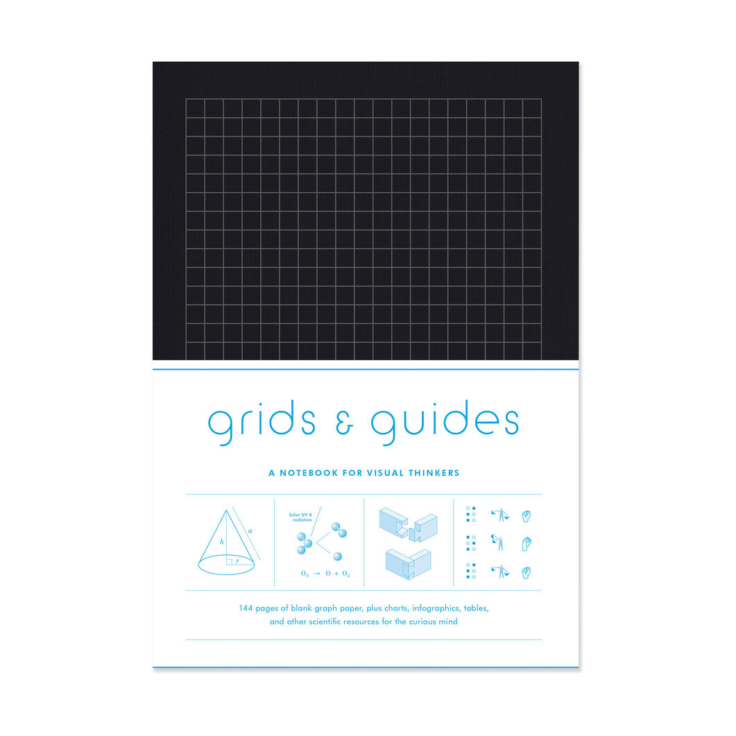 Grids & Guides Activity Book - Clothbound in color