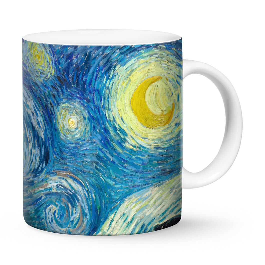 Starry Night Mug in color