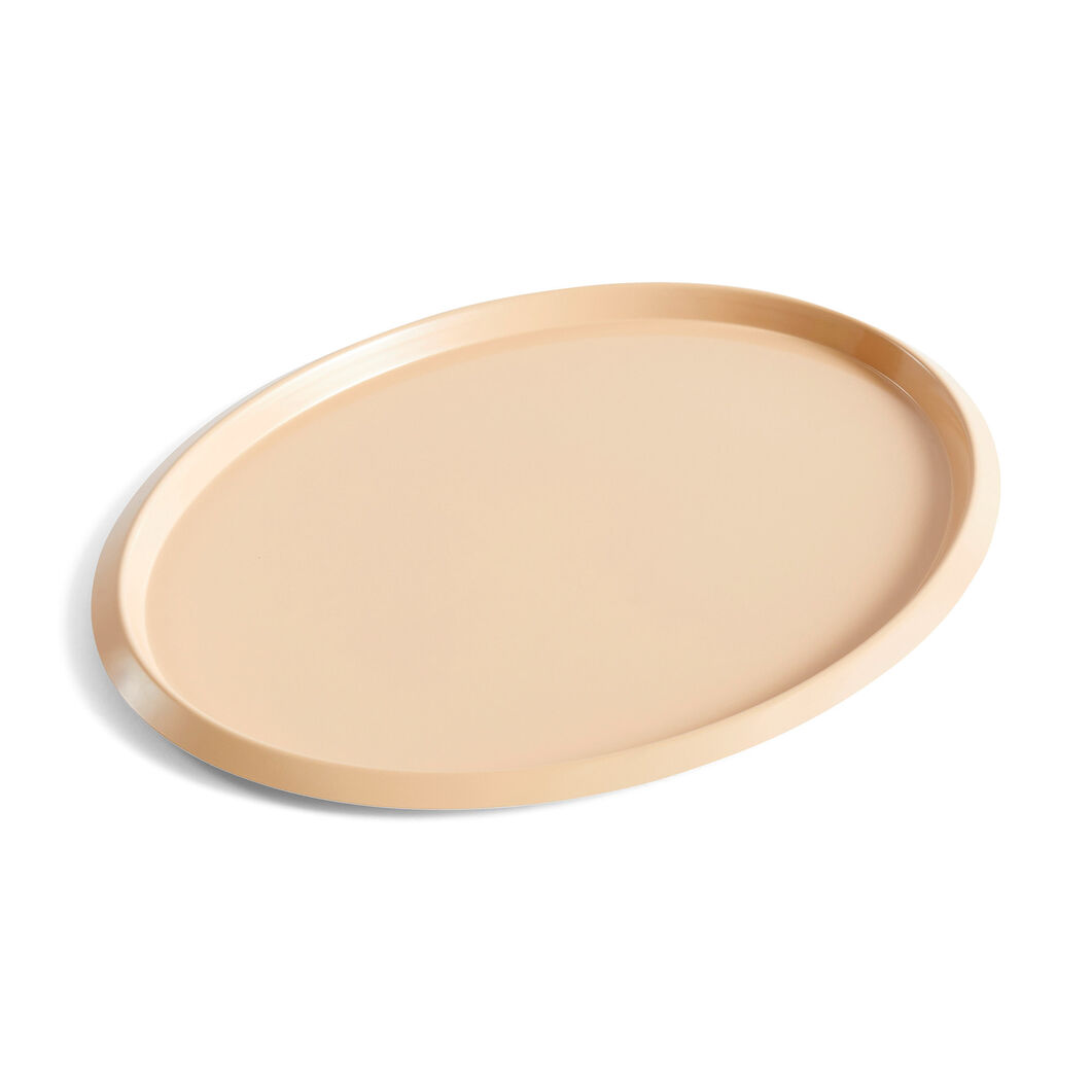 HAY Ellipse Trays in color Beige