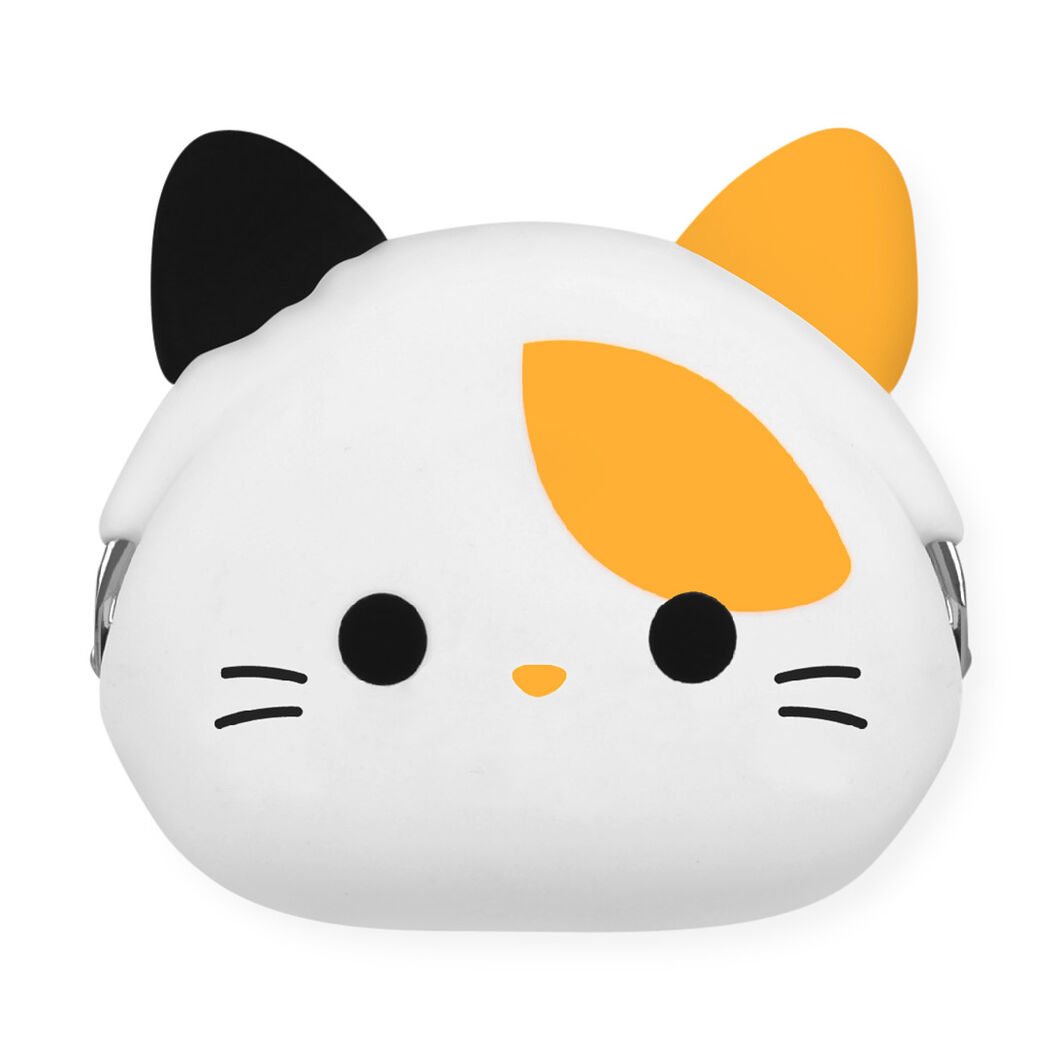 Silicone Kitty Coin Purse in color