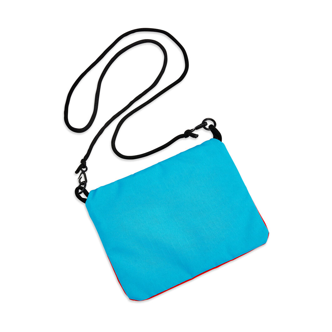 MoMA Logo Colorblock Bag in color Red/ Turquoise