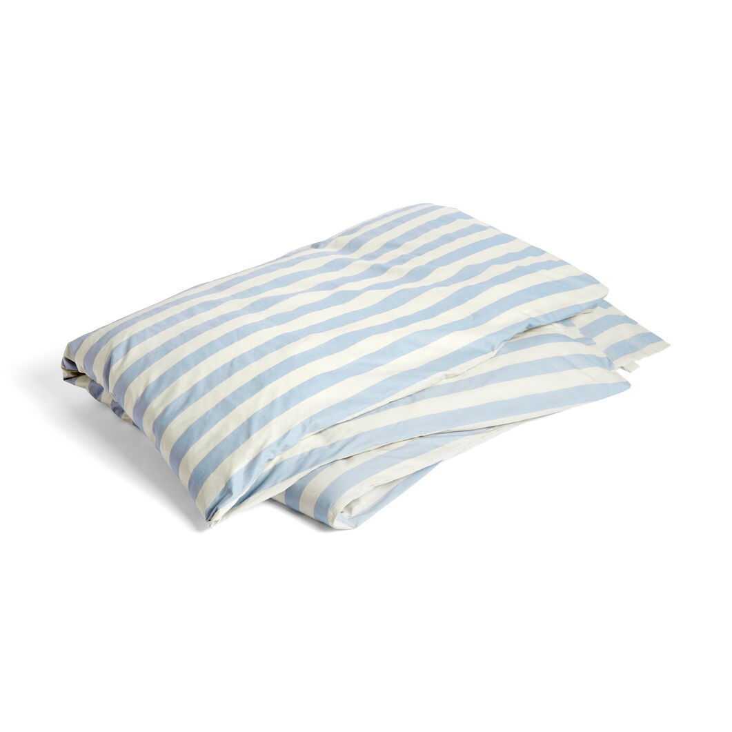 HAY Été Duvet Cover in color Light Blue