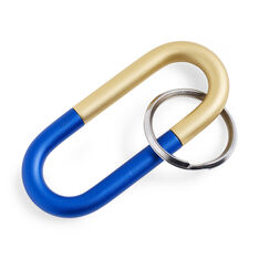 HAY Cane Key Ring in color Blue