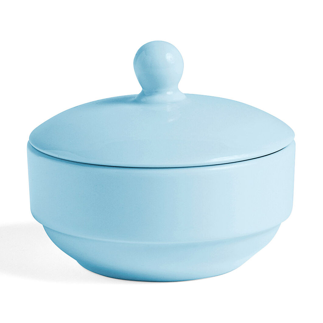HAY Rainbow Sugar Bowl in color Light Blue