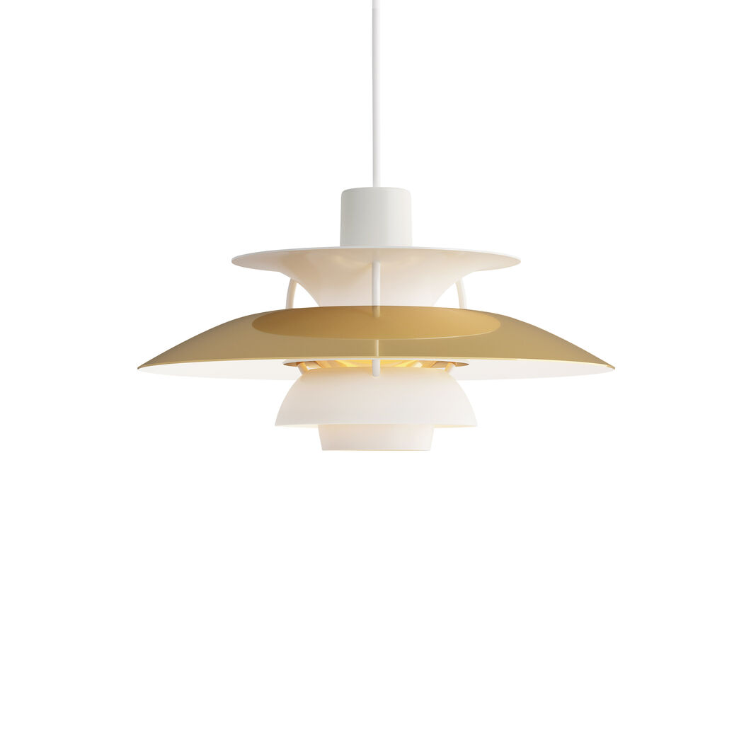 PH 5 Hanging Lamp in color Brass