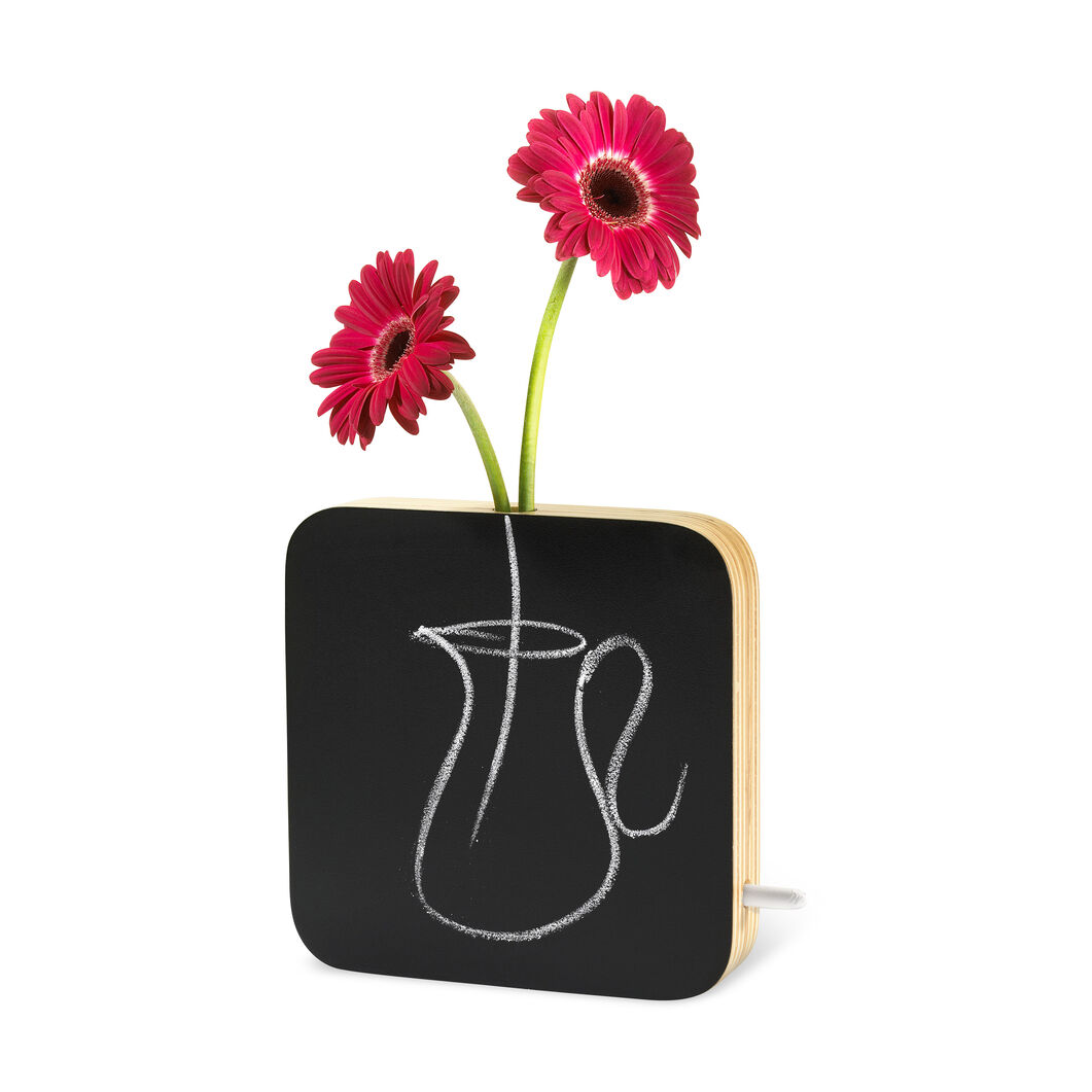 Chalkboard Vase in color