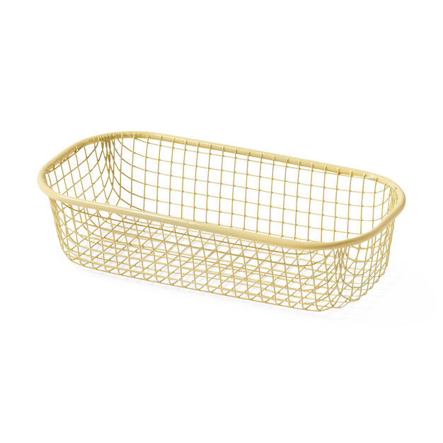 HAY Trinket Tray in color Light Yellow