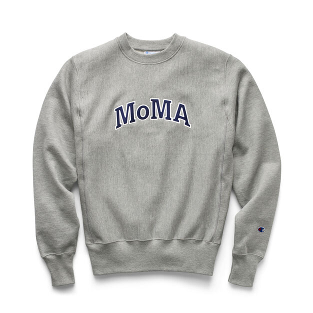 0b972ea9d0 Champion Crewneck Sweatshirt - MoMA Edition in color Grey