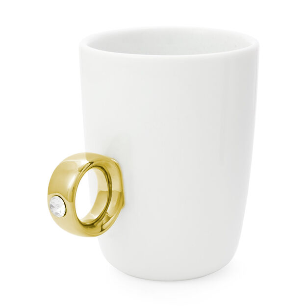2 Carat Cup in color Gold/ White