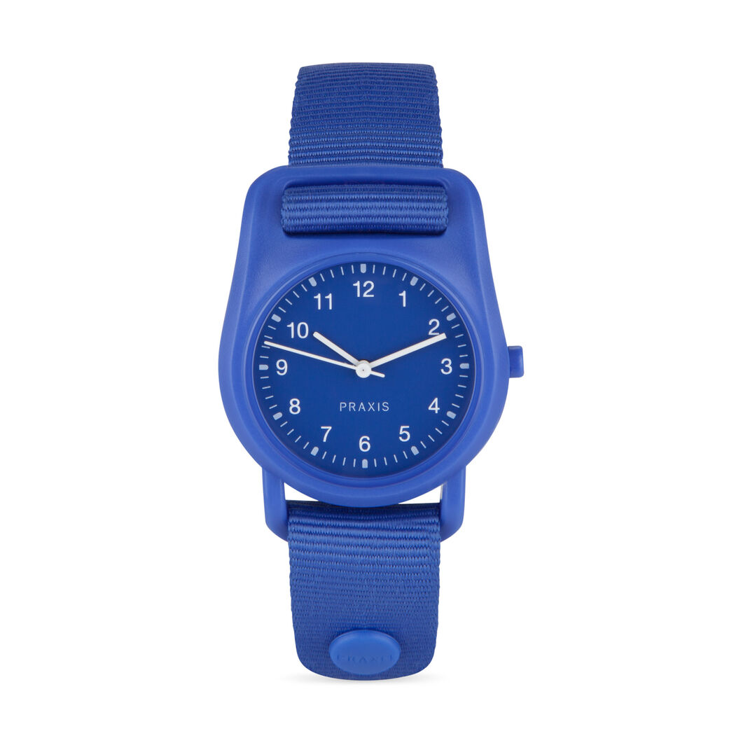 Strap Watch Blue in color Blue