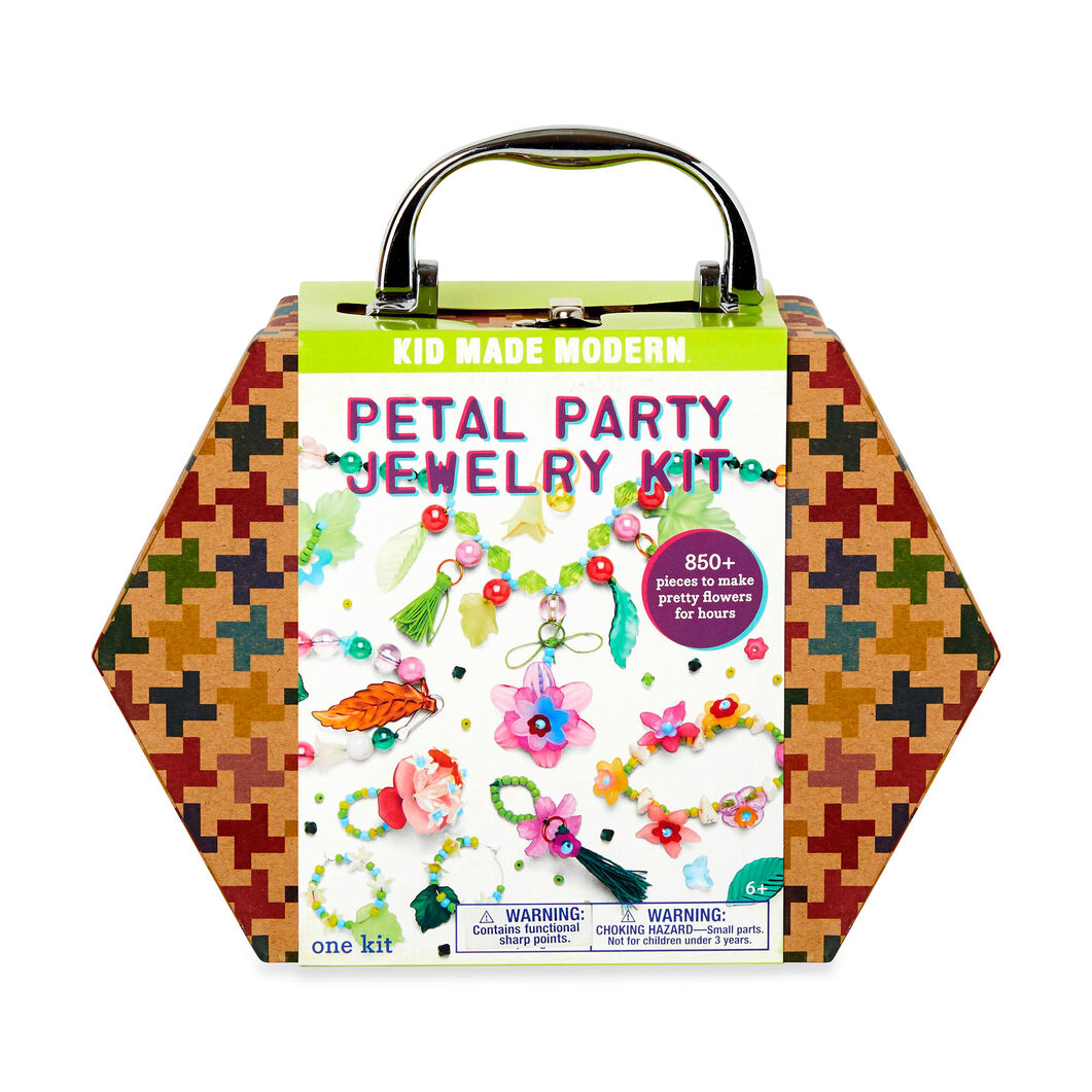 Kid Made Modern Petal Party Jewelry Making Kit in color