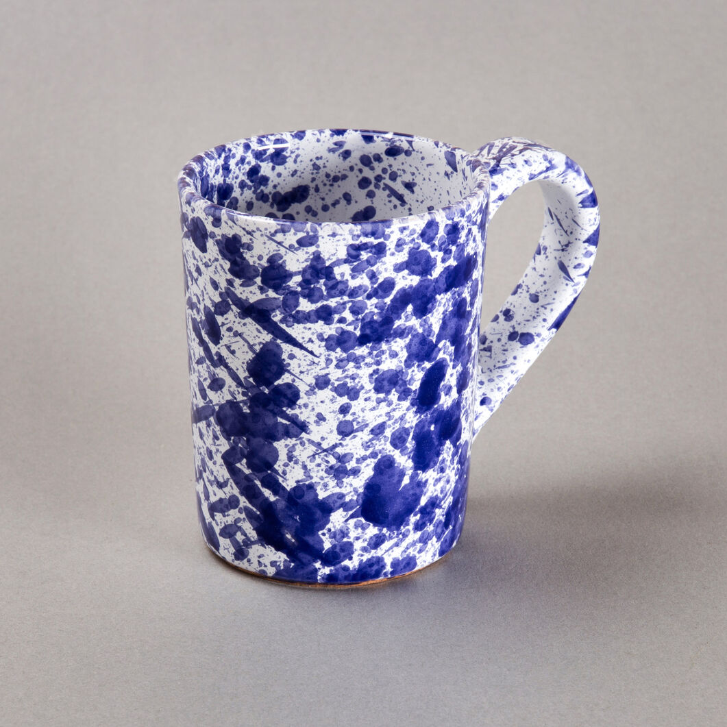 Sicilian Ceramic Coffee Cup in color Blue