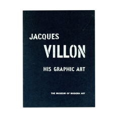 Jacques Villon: His Graphic Art - Paperback in color