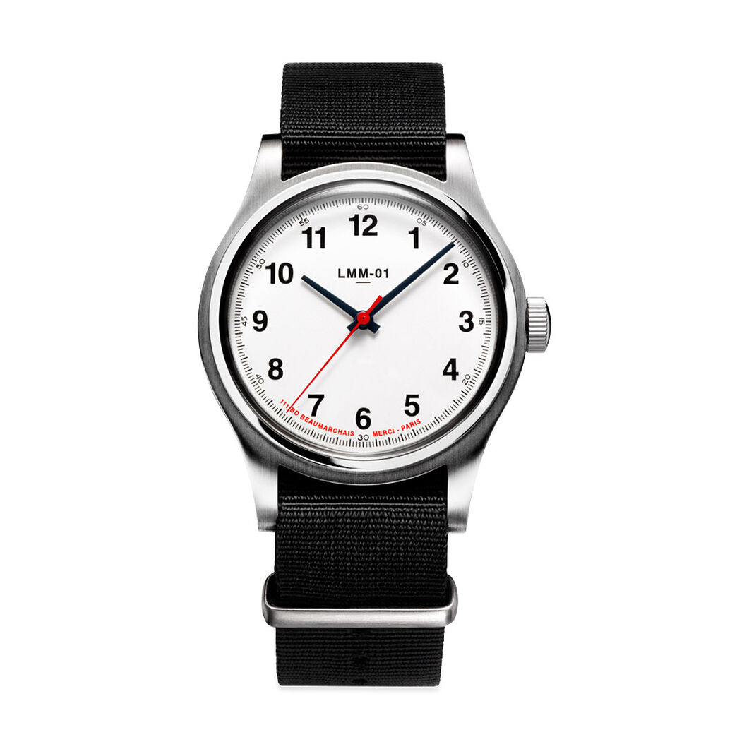 Merci LMM-01 Quartz Watches in color White