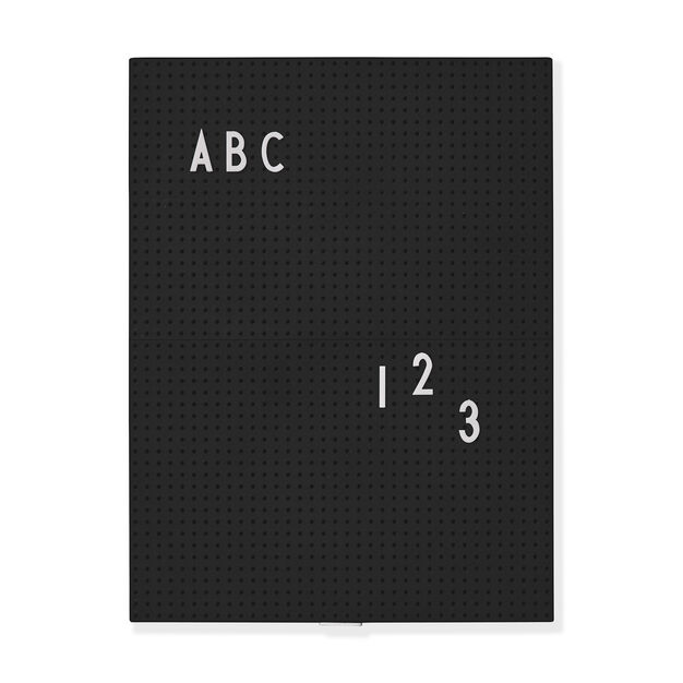 Arne Jacobsen Message Boards in color Black