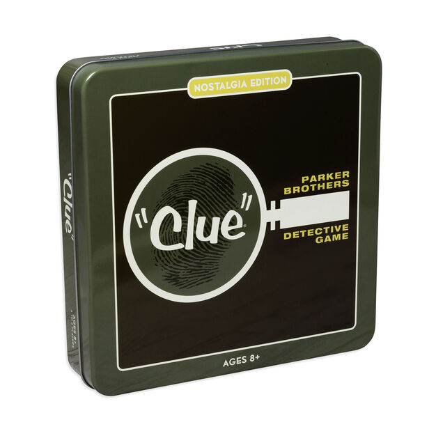 Clue Game Tin - Nostalgia Edition in color