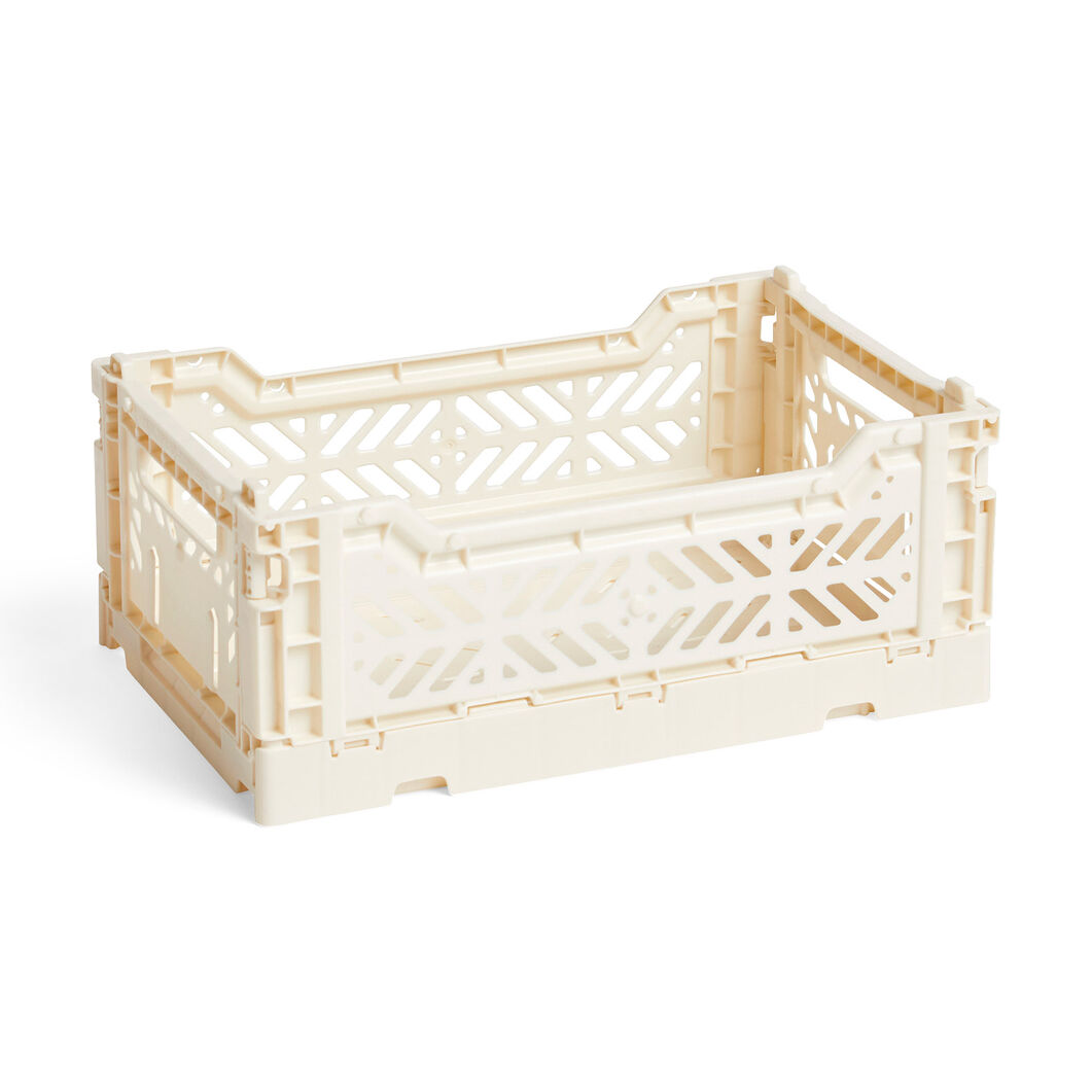 HAY Collapsible Storage Bins in color Off White