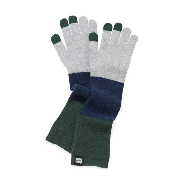Extra Long Touch Gloves in color