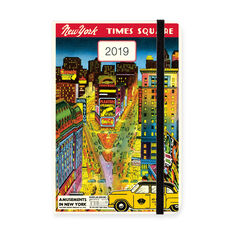 2019 NYC Weekly Planner in color
