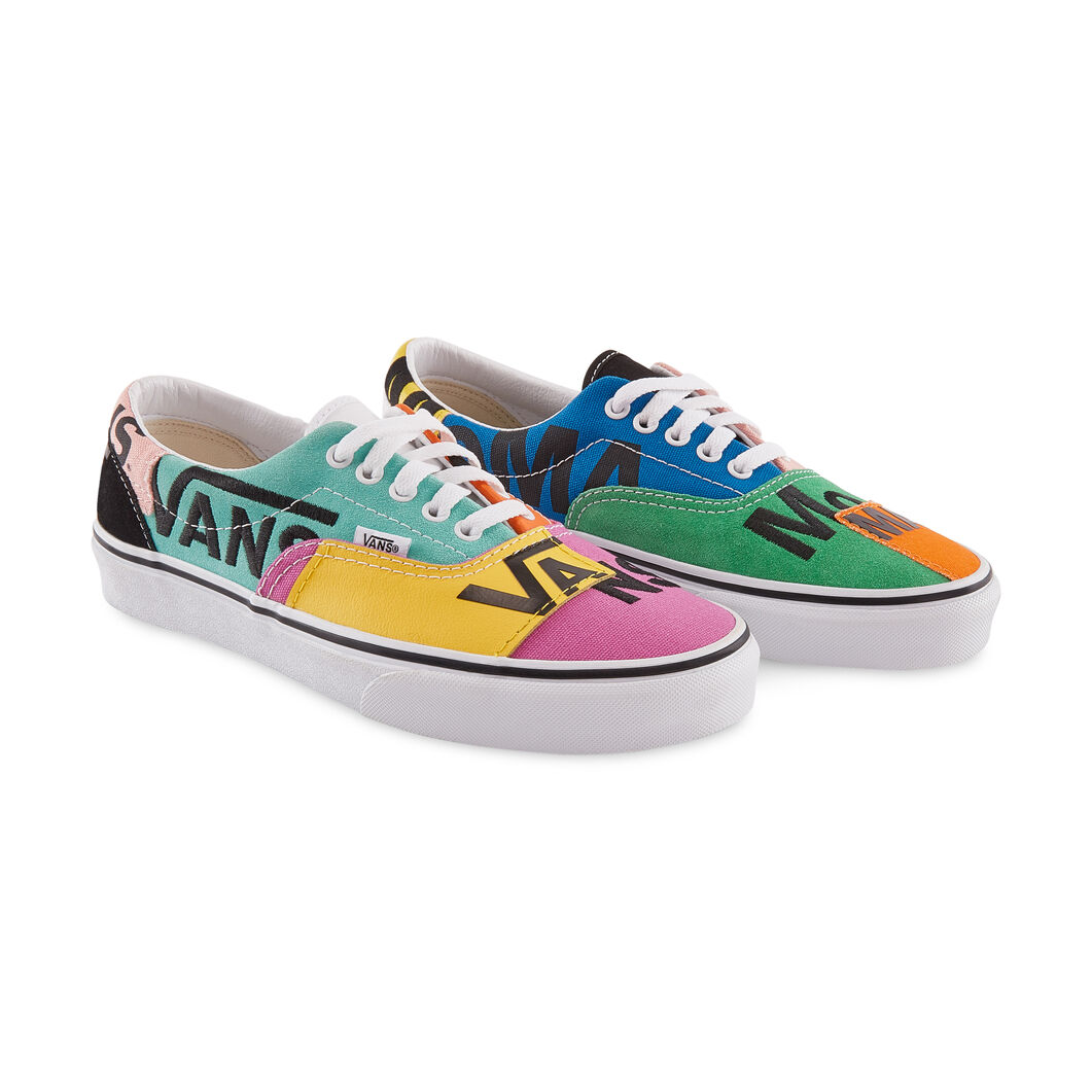 MoMA and Vans Era Sneakers in color Multi