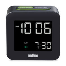 Digital Square Alarm Clock in color