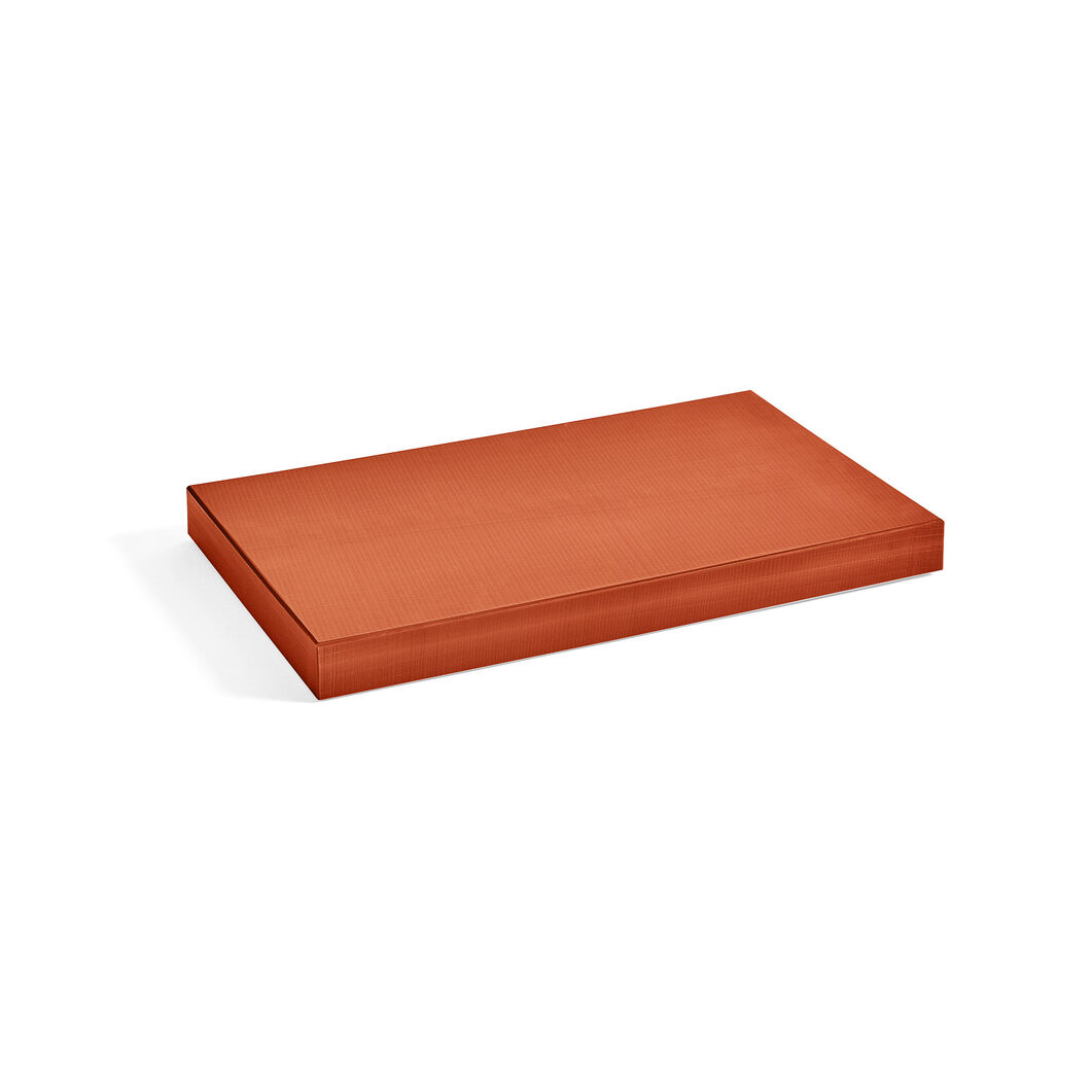 HAY Chopping Board in color Burnt Orange