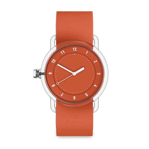 TID Watch No. 3 in color Orange