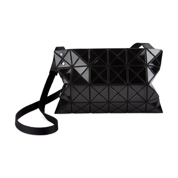 BAO BAO ISSEY MIYAKE Lucent Basic Crossbody Bag in color Black