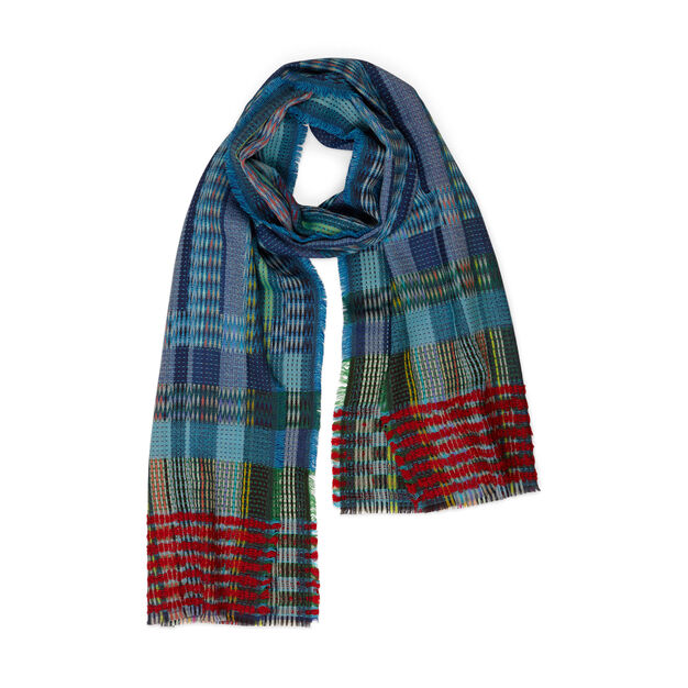 Wallace Sewell Chevron Wool Wrap in color