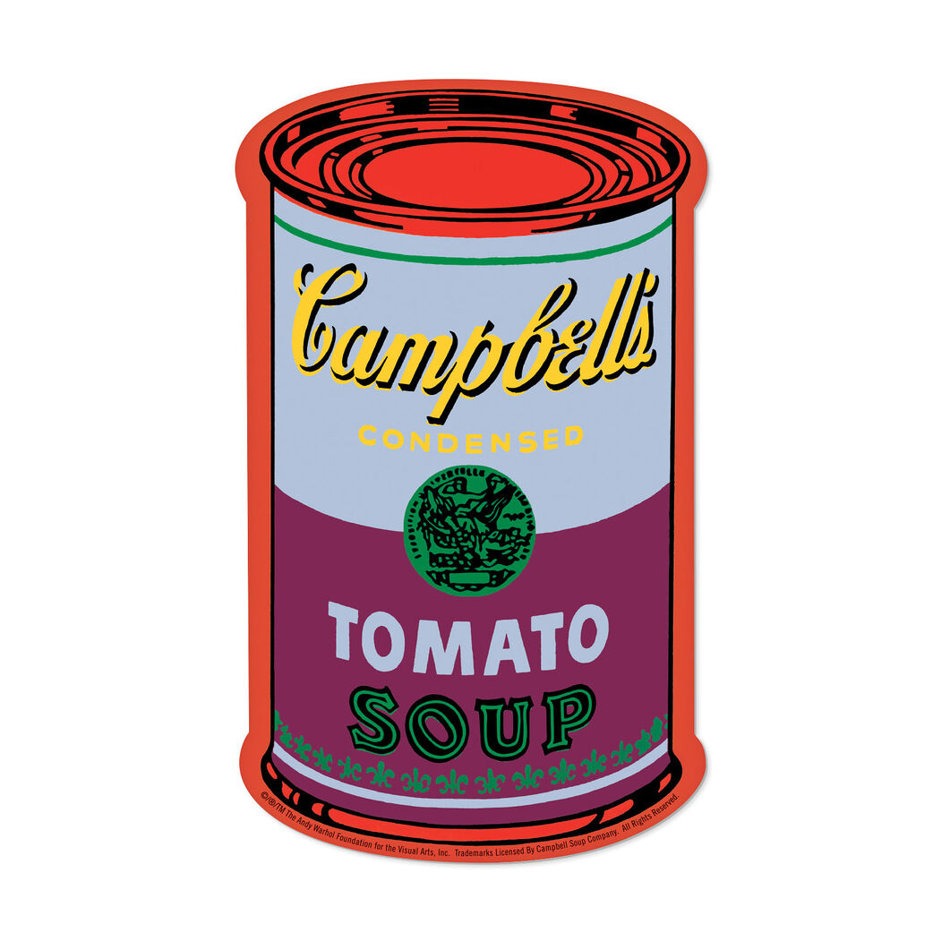 Andy Warhol Soup Cans Memory Game in color