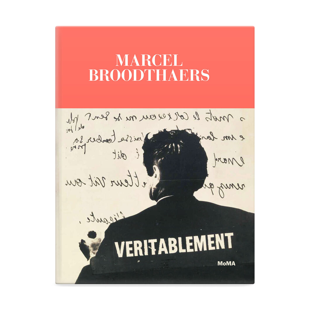 Marcel Broodthaers Exhibition Catalogue in color