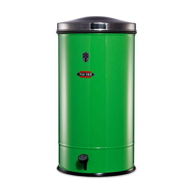 Erpa Trash Can in color Green
