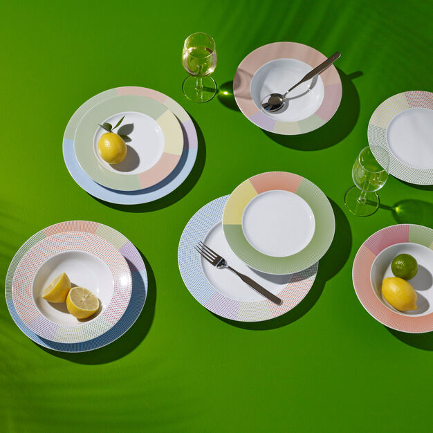 Mediterranea Dinnerware Set in color
