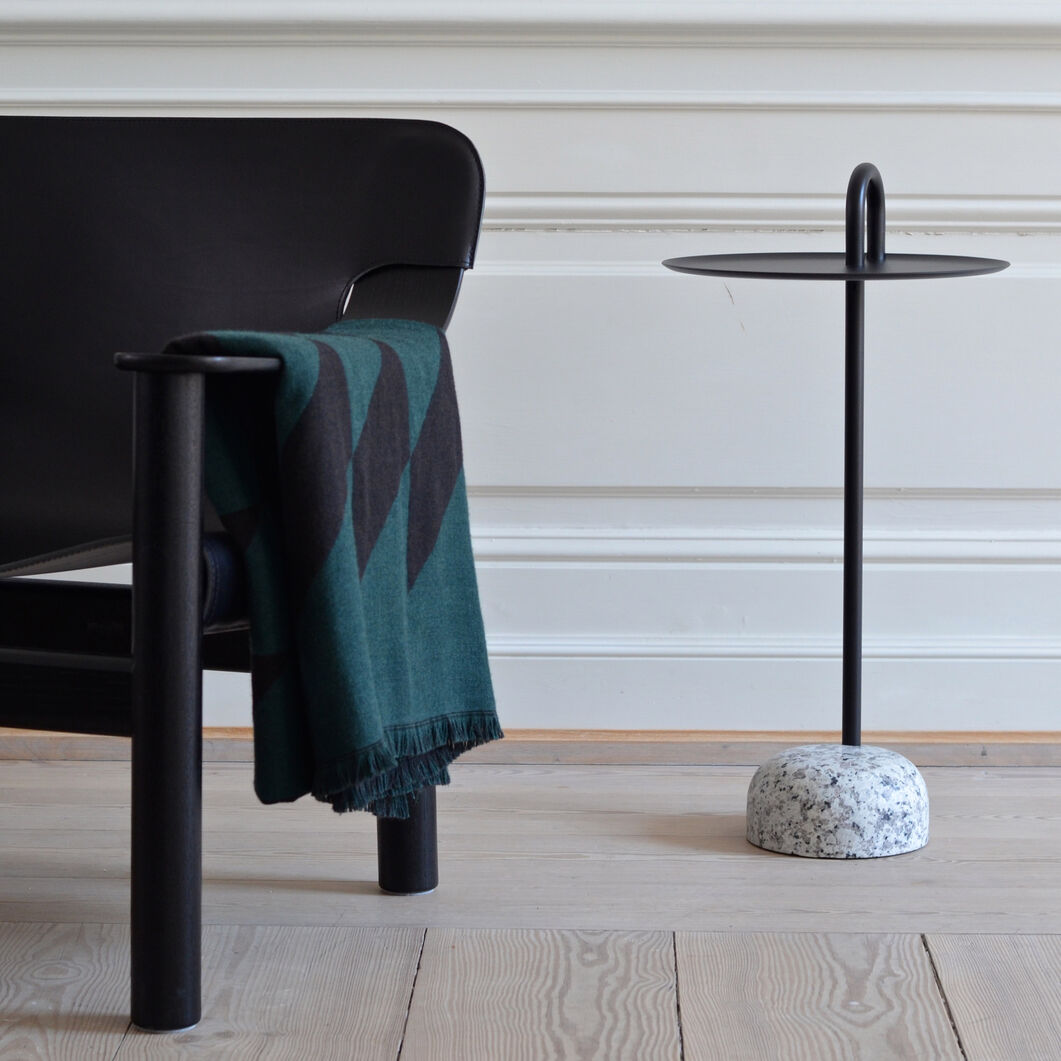 HAY Bowler Table in color Black