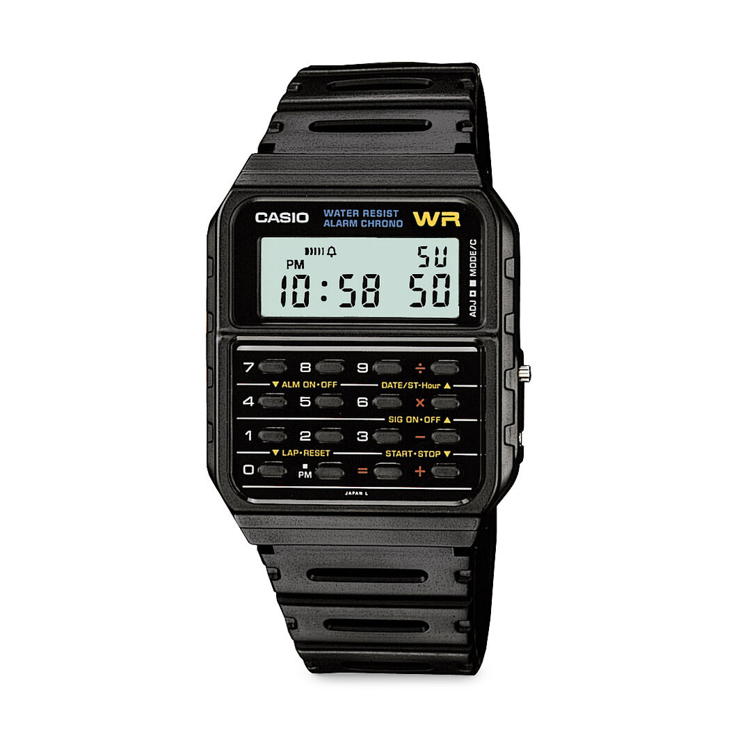 Casio Digital Calculator Watch in color