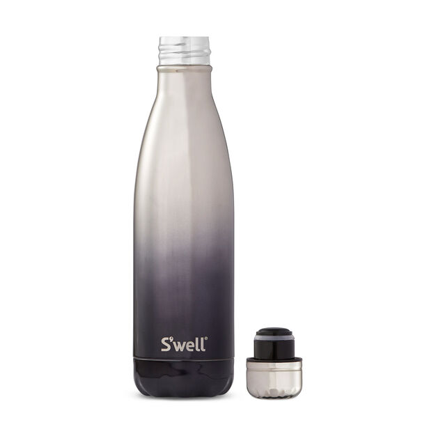 S'well Bottle Silver Ombre in color