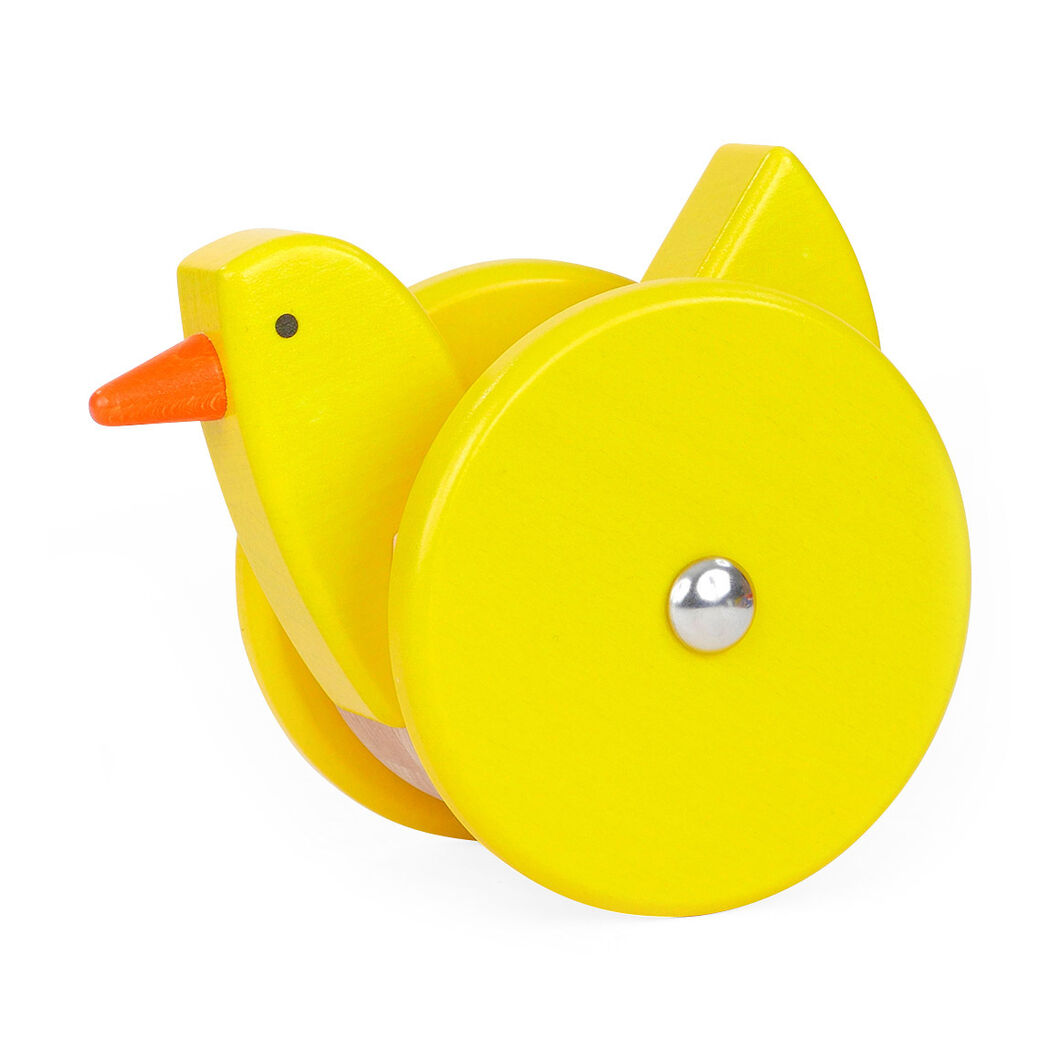 Wobbling Chicken Toy in color
