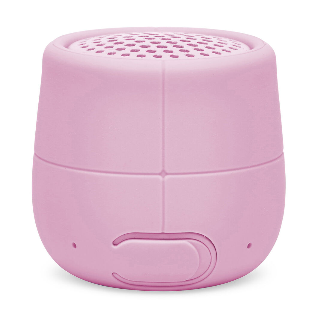 Lexon Mino X Waterproof Speaker in color Light Pink