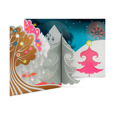 Foxy Mountain Holiday Cards (Box of 8) in color