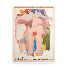 Willem de Kooning: American Painters Framed Poster in color